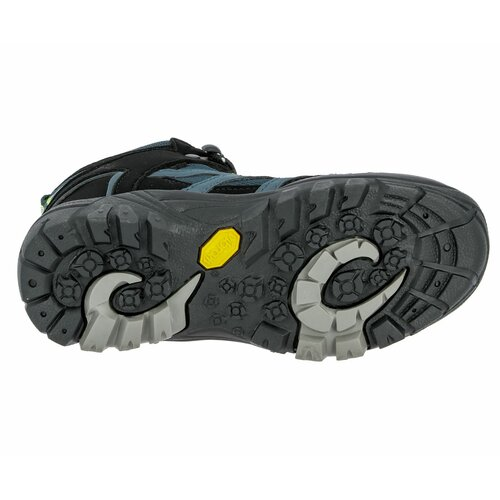 Brütting Outdoorstiefel Vision High Kids - petrol/schwarz/lemon