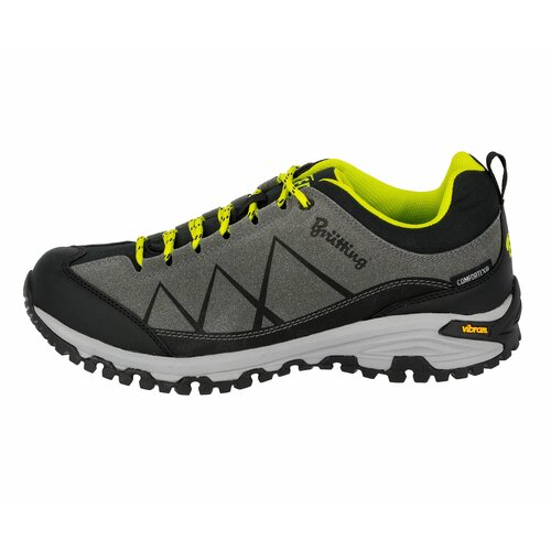 Brütting Outdoorschuh Kansas - anthrazit/schwarz/lemon 44