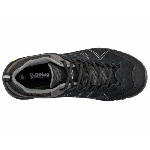 Brütting Outdoorschuh Mount Kapela Low - schwarz/grau